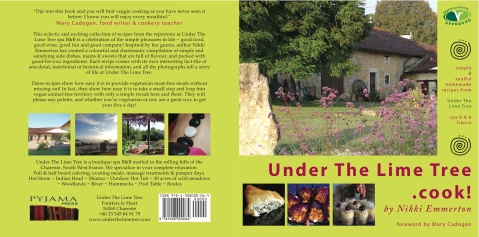 A signed copy of Nikki's recipe book is available from UTLT for 10€ + p&p, or from http://www.amazon.co.uk/s/ref=nb_sb_noss?url=search-alias%3Dstripbooks&field-keywords=under+the+lime+tree+.+cook&x=0&y=0
