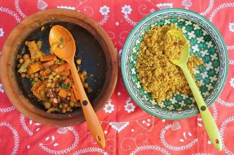 moroccan spiced veg tagine